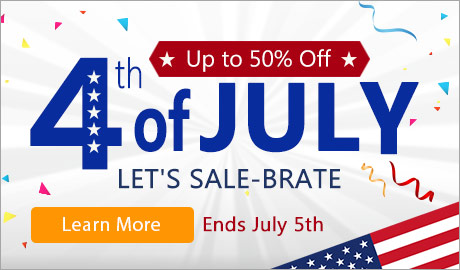 Let's Sale-brate! Save up to 50% storewide, ends July 5th